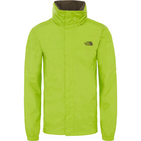 The North Face Resolve 2 Chaqueta Hombre, lime green/new taupe green